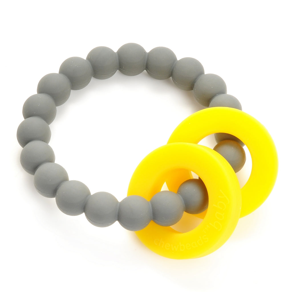 Chewbeads - Mulberry Teether - Stormy Grey