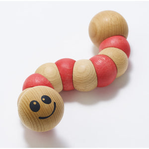 BeginAgain Toys - Earthworms - Red