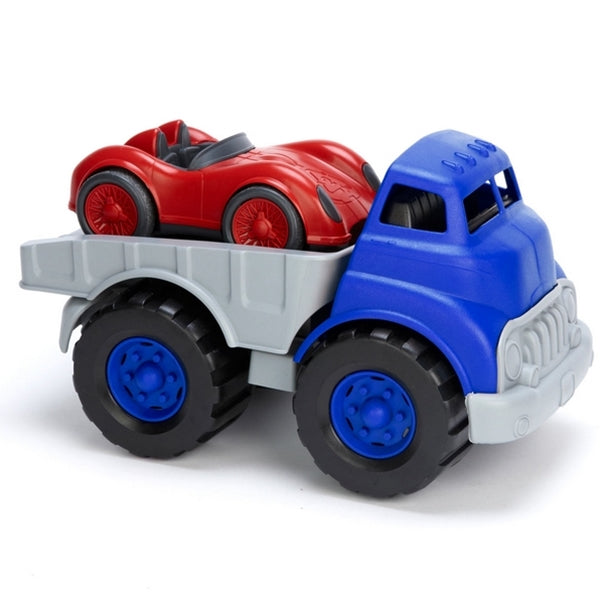 Green Toys - Flatbed Truck and Race Car