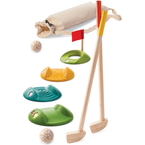 Plan Toys - MINI GOLF - FULL SET
