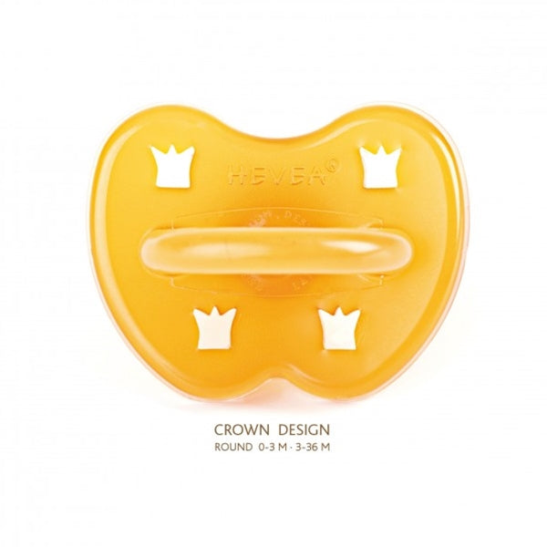 Hevea - Crown Natural Rubber Pacifier