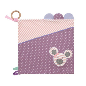 Apple Park -  Farm Buddies Ballerina Mouse Activity Blankie
