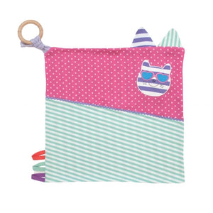 Apple Park -  Farm Buddies Catnap Kitty Activity Blankie