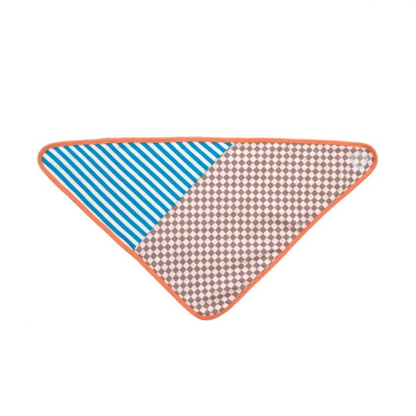 Apple Park -  Farm Buddies Checkerboard Bandanna Bib