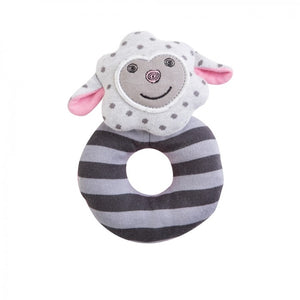 Apple Park -  Farm Buddies Dreamy Sheep Teething Rattle