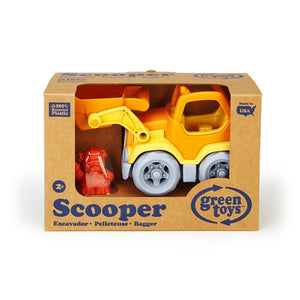 Green Toys - Construction Truck - Scooper Orange
