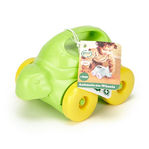 Green Toys - Turtle-on-Wheels