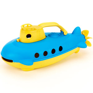 Green Toys - Submarine  - Yellow