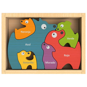 Beginagain Toys - Dog Family Puzzle