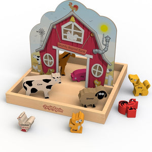Beginagain Toys - Sounds Around The Farm  Storybox