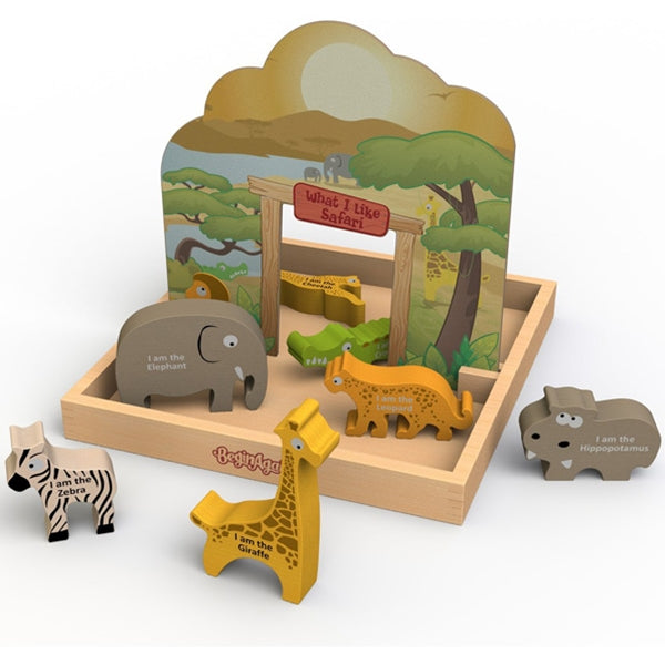 Beginagain Toys - What I Like Safari  Storybox