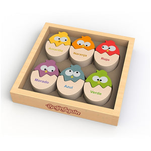 Beginagain Toys - Color N Eggs