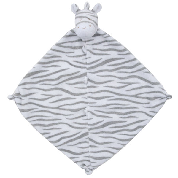 Angel Dear - Blankie - Grey Zebra
