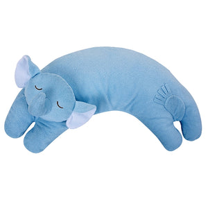 Angel Dear - Curved Pillow - Blue Elephant