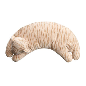 Angel Dear - Curved Pillow - Tan Tiger