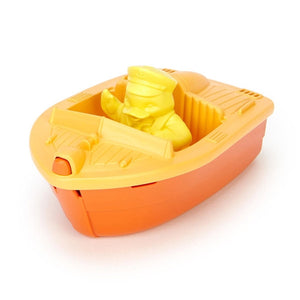 Green Toys Sport Boats - Race Boat - Orange