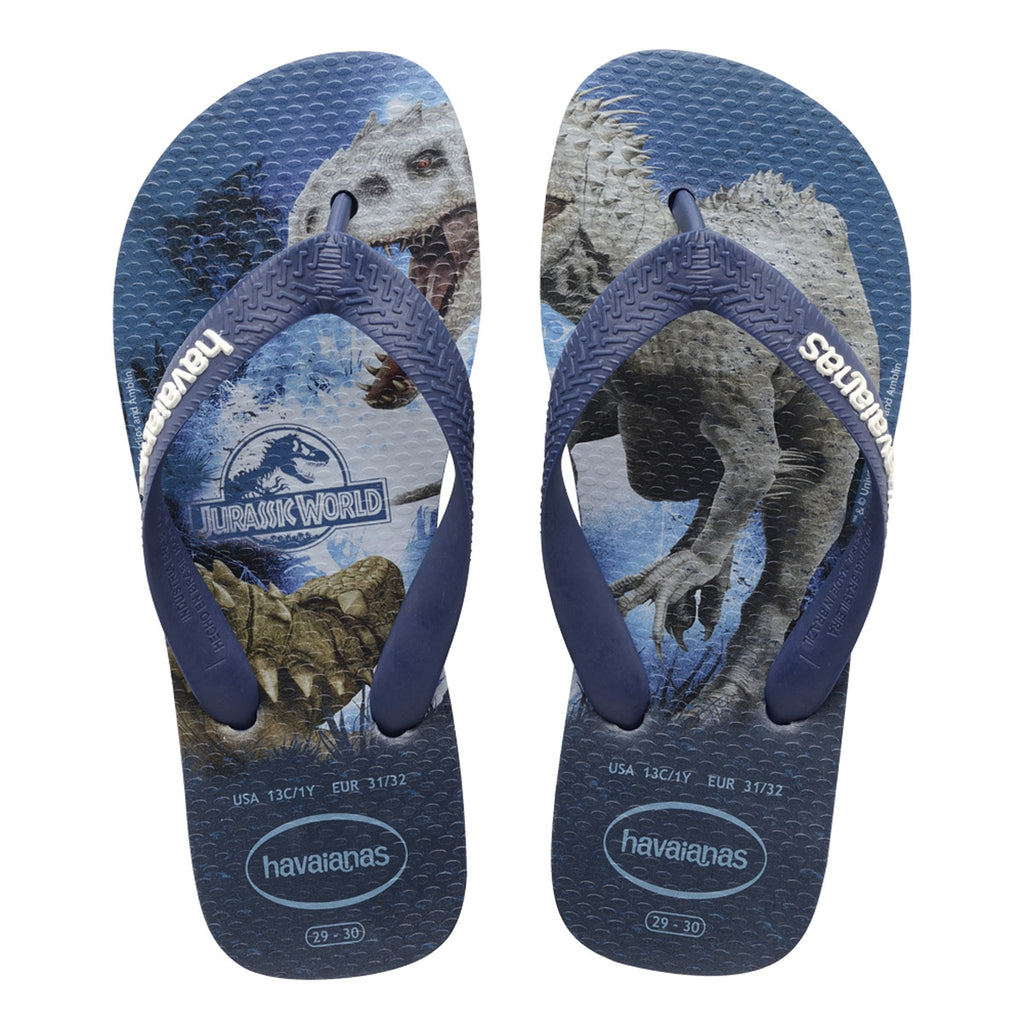 Havaianas - Kids Jurassic World Sandal - Indigo Blue