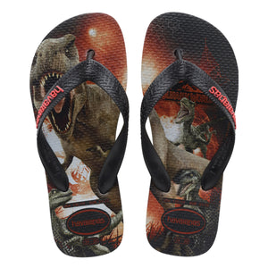 Havaianas - Kids Jurassic World Sandal - Black