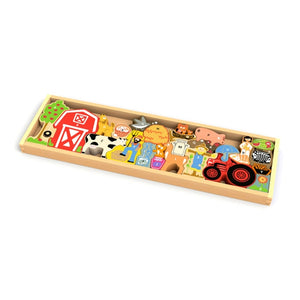 Beginagain Toys - The Farm A To Z Puzzle