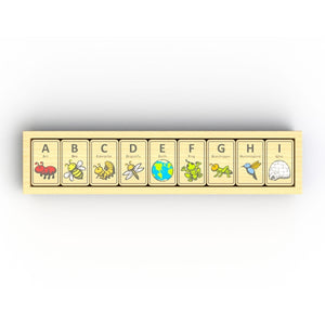 Beginagain Toys - Alphabet Adventure Tiles
