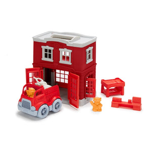 Green Toys - Fire Station Playset