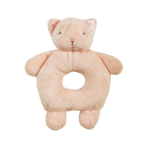 Bunnies By The Bay - Purr-Ty Kitty Ring Rattle - 6 Inch