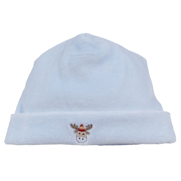 Kissy Kissy - Snow Much Fun  Velour Hat - Blue