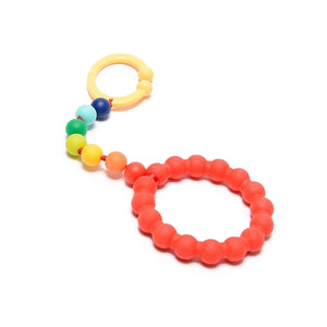 Chewbeads - Baby Gramercy Teething Stroller Toy - Rainbow