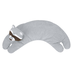 Angel Dear - Curved Pillow - Raccoon