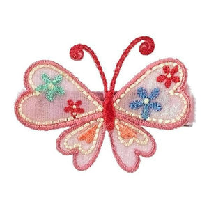 No Slippy Hair Clippy - Karielle Butterfly Pinch Clip - Bubblegum