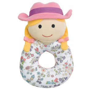 Apple Park - Organic Teething Rattle - Susie Sunshine Farm Girl