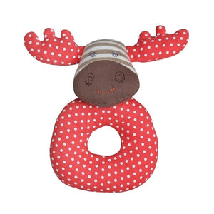 Apple Park - Farm Buddies Teething Rattle - Margeaux Moose