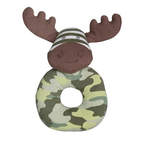 Apple Park - Farm Buddies Teething Rattle - Marshall Moose