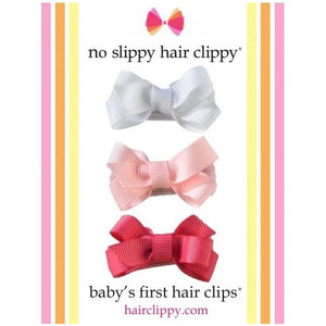 No Slippy Hair Clippy - Bows Gift Pack - Multi Colored