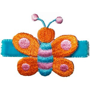 No Slippy Hair Clippy - Jessie Butterflies - Turquoise