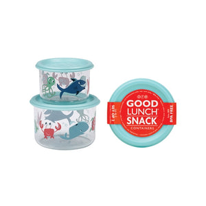 Ore - Good Lunch Snack Containers Small Set-of-Two - Ocean