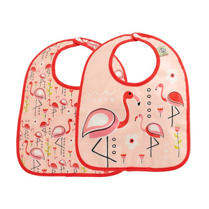 Ore - Mini Bib Gift Set-of-Two - Flamingo