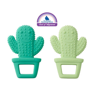 Ore - Silicone Teether Set of 2 - Happy Cactus