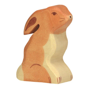 Holztiger - Rabbit - Seated