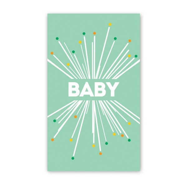 Rock Scissor Paper - Baby Starburst - Mini Cards
