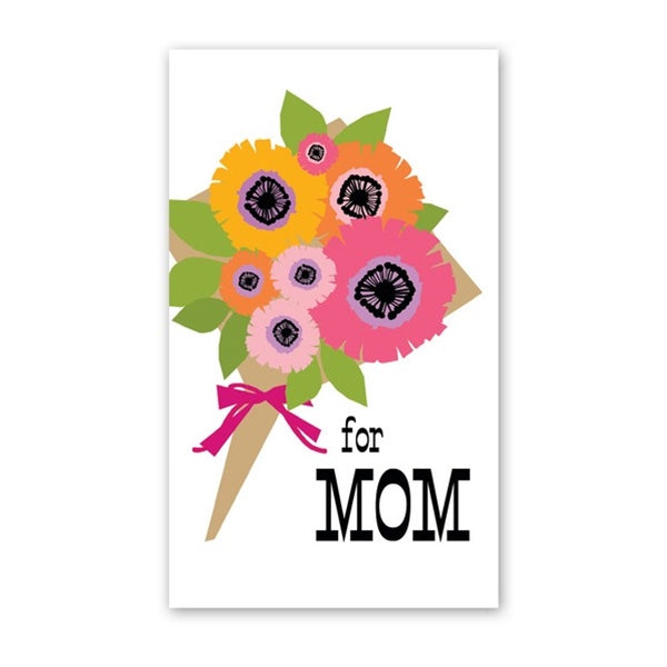 Rock Scissor Paper - Mom Bouquet - Mini Cards