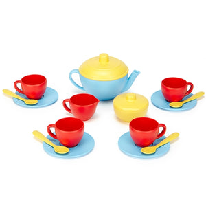 Green Toys - Tea Set - Blue
