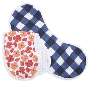 Aden and Anais - Flora 2-Pack - Burpy Bibs