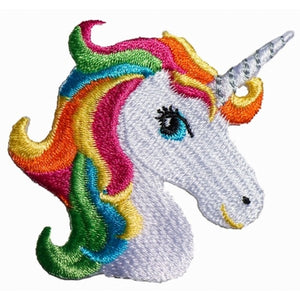 No Slippy Hair Clippy - Harlow Colorful Unicorn Pinch Clip