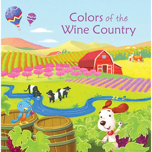 Colors of the Wine Country Hard Book
