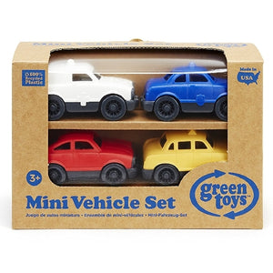 Green Toys - Mini Vehicle 4 Pack