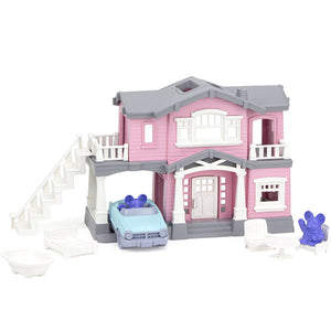 Green Toys - House Playset - Pink