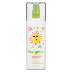 Babyganics - Mineral-Based Sunscreen Spray SPF 50
