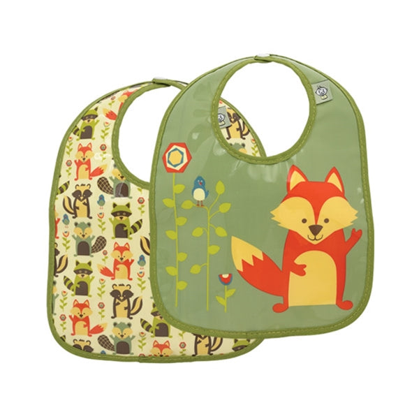 Ore - Mini Bib Gift Set-of-Two - What Did The Fox Eat?