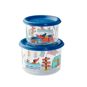 Ore - Good Lunch Snack Containers Small Set-of-Two - Happy Camper